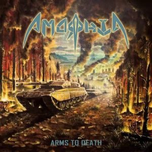 Amorphia Arms of Death Artwork