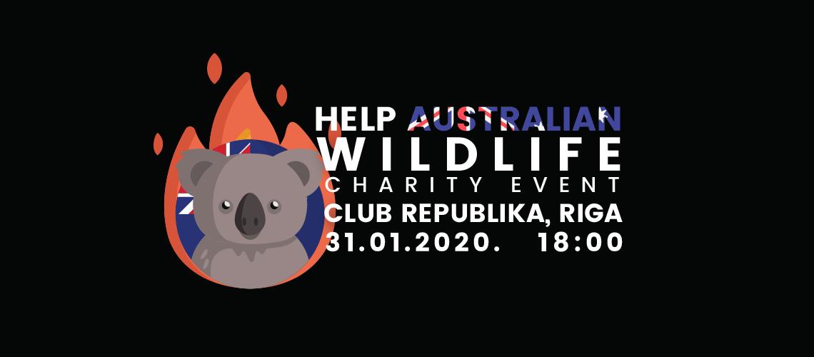 Charity concert HELP AUSTRALIAN WILDLIFE